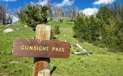 Green River Pass ThenGunsight Pass