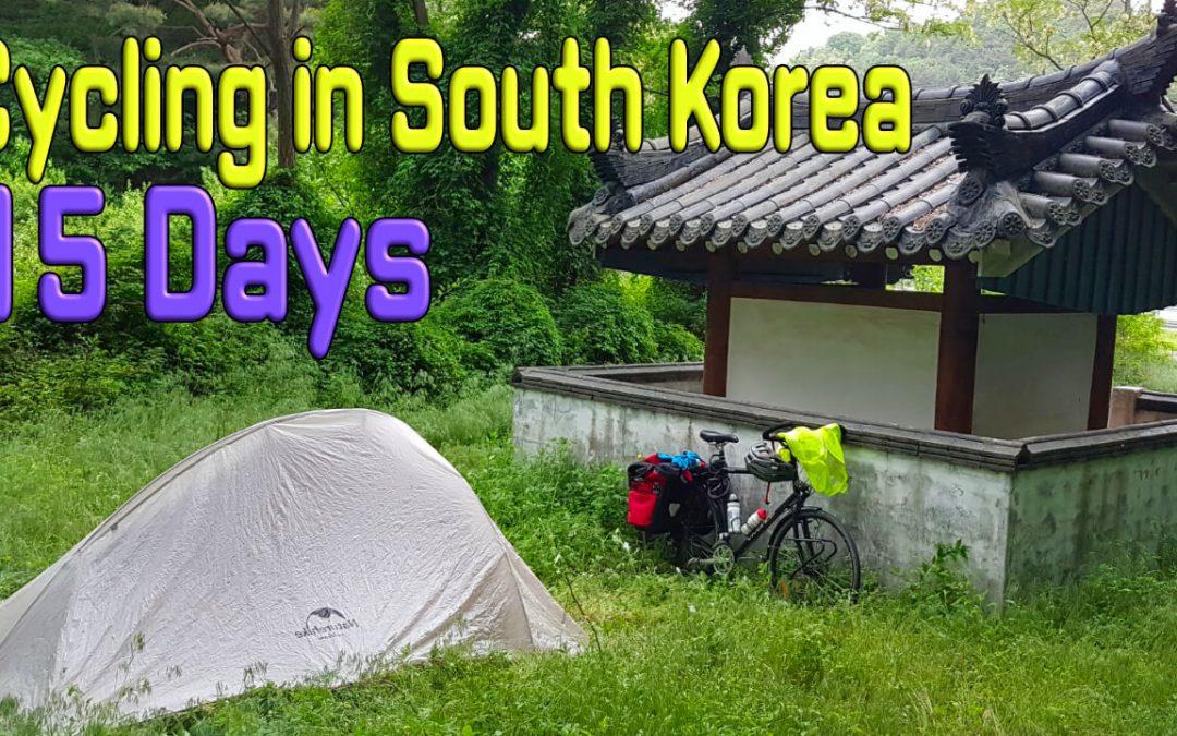 Bicycling South Korea 2020